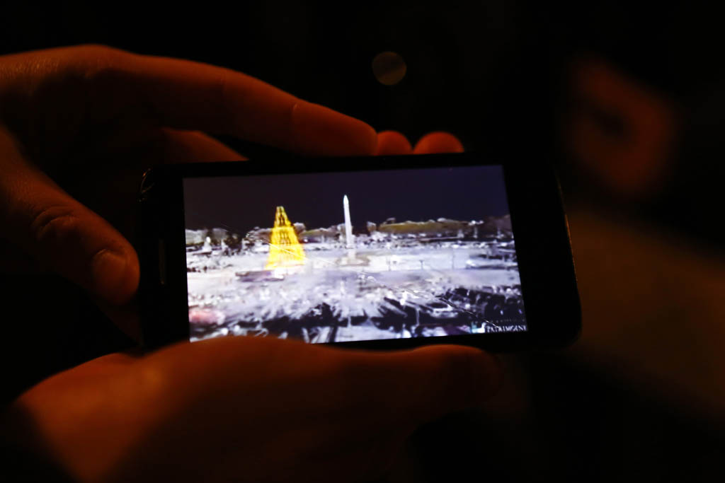 PHARES for Nuit Blanche Paris 2015